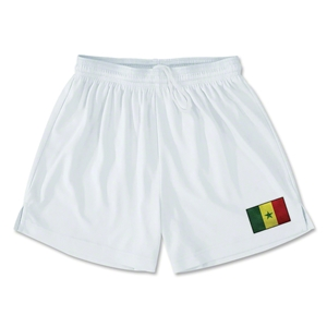 Senegal Team Soccer Shorts (White)