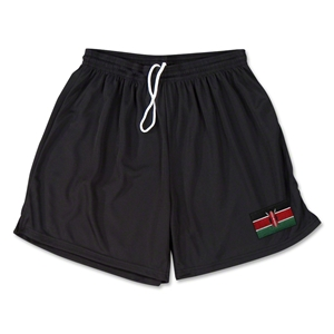 Kenya Team Soccer Shorts (Black)
