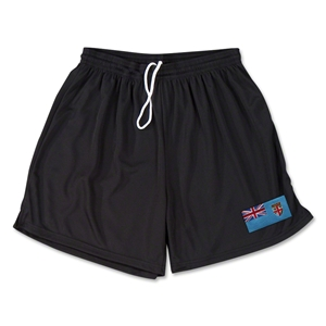 Fiji Team Soccer Shorts (Black)