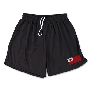 Tonga Team Soccer Shorts (Black)