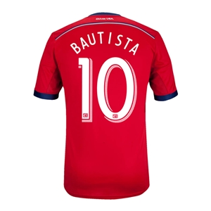 Chivas USA 2014 BAUTISTA Authentic Primary Soccer Jersey