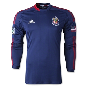 Chivas USA 2014 LS Authentic Secondary Soccer Jersey