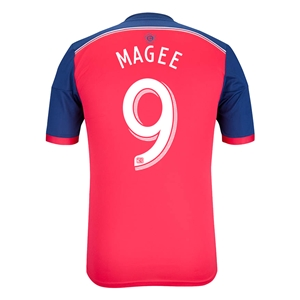 Chicago Fire 2014 MAGEE Authentic Primary Soccer Jersey