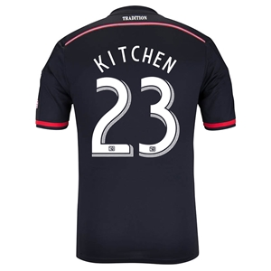 DC United 2014 KITCHEN Authentic Primary Soccer Jersey