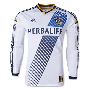 LA Galaxy 2014 LS Authentic Primary Soccer Jersey