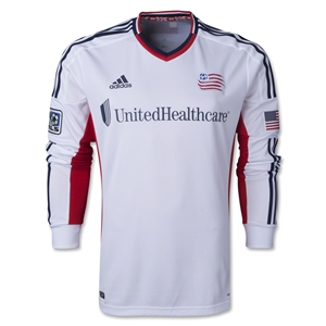 New England Revolution 2014 LS Authentic Secondary Soccer Jersey