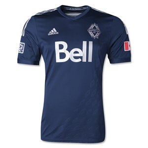 Vancouver Whitecaps 2014 Authentic Secondary Soccer Jersey