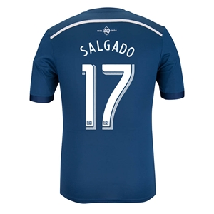 Vancouver Whitecaps 2014 SALGADO Authentic Secondary Soccer Jersey