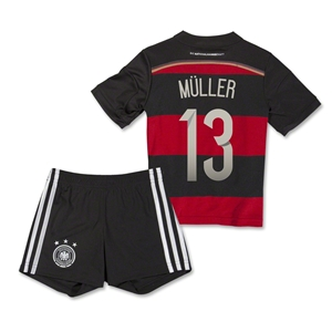 Germany 2014 MULLER Away Mini Kit