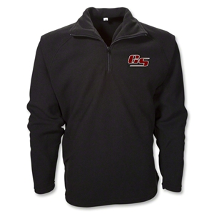 Grassroot Soccer 1/4 Fleece Pullover (Black)