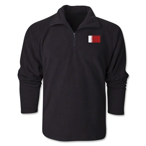 Bahrain Flag 1/4 Fleece Pullover
