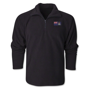 Cayman Islands Flag 1/4 Fleece Pullover