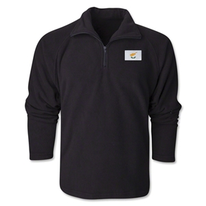 Cyprus Flag 1/4 Fleece Pullover