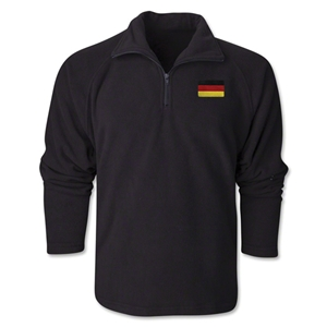 Germany Flag 1/4 Fleece Pullover