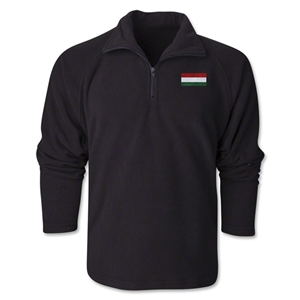 Hungary Flag 1/4 Fleece Pullover