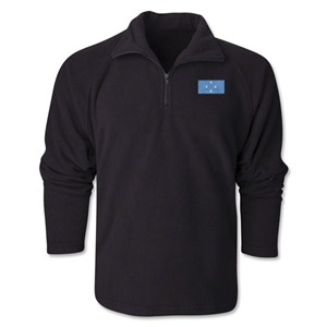 Micronesia Flag 1/4 Fleece Pullover