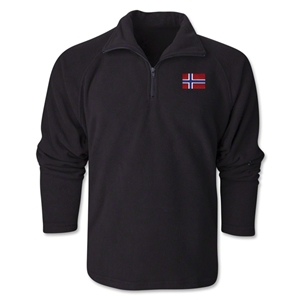 Norway Flag 1/4 Fleece Pullover