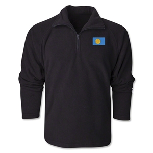 Palau Flag 1/4 Fleece Pullover