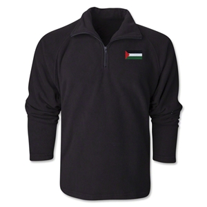 Palestine Flag 1/4 Fleece Pullover