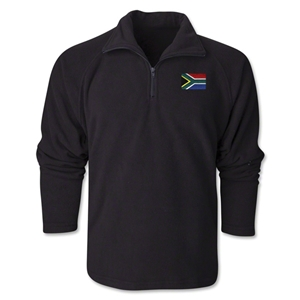 South Africa Flag 1/4 Fleece Pullover