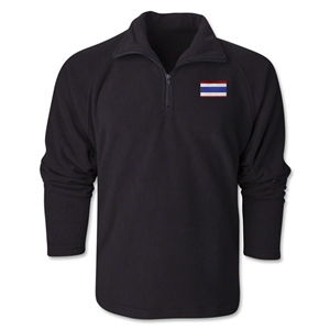 Thailand Flag 1/4 Fleece Pullover