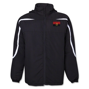 Angola Flag All Weather Storm Jacket