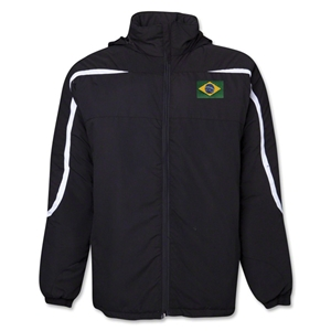 Brazil Flag All Weather Storm Jacket