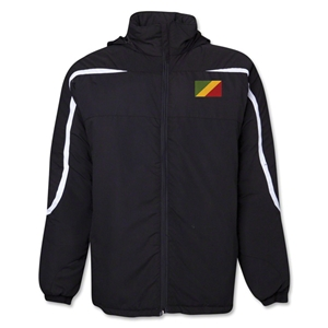 Congo Flag All Weather Storm Jacket