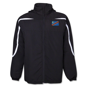 Congo DR Flag All Weather Storm Jacket