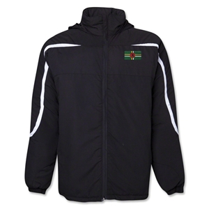 Dominica Flag All Weather Storm Jacket