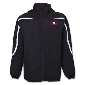 Laos Flag All Weather Storm Jacket