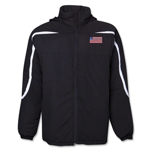 Liberia Flag All Weather Storm Jacket