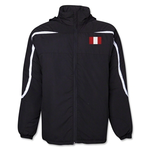 Peru Flag All Weather Storm Jacket
