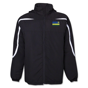 Rwanda Flag All Weather Storm Jacket