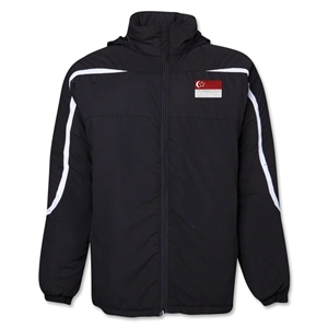 Singapore Flag All Weather Storm Jacket