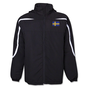 Sweden Flag All Weather Storm Jacket