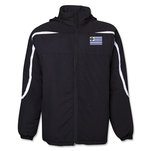Uruguay Flag All Weather Storm Jacket