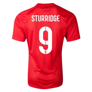 England 2014 STURRIDGE Authentic Away Soccer Jersey