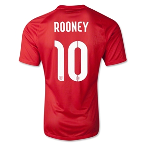 England 2014 ROONEY Away Soccer Jersey