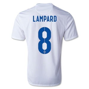 England 2014 LAMPARD Home Soccer Jersey