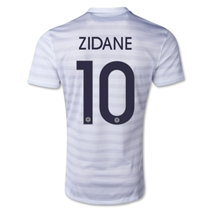 France 2014 ZIDANE Away Soccer Jersey