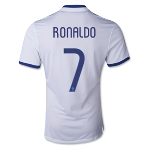 Portugal 14/15 RONALDO Authentic Away Soccer Jersey