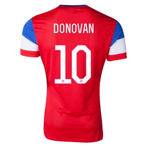 USA 2014 DONOVAN Away Soccer Jersey