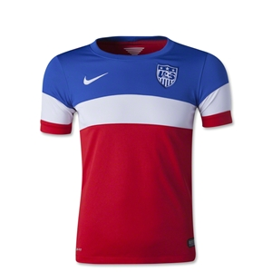 USA 2014 Youth Away Soccer Jersey