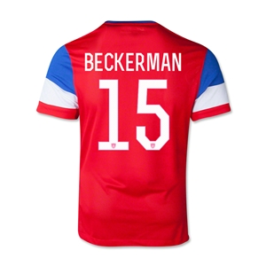 USA 14/15 BECKERMAN Youth Away Soccer Jersey