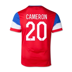 USA 2014 CAMERON Youth Away Soccer Jersey