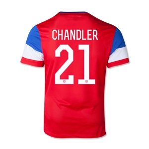USA 2014 CHANDLER Youth Away Soccer Jersey