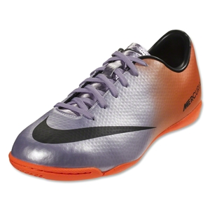Nike Mercurial Victory IV IC Junior (Metallic Mach Purple/Black/Total Orange)