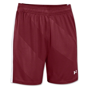 Under Armour Women's Fixture Short (Cardnal/Wh)