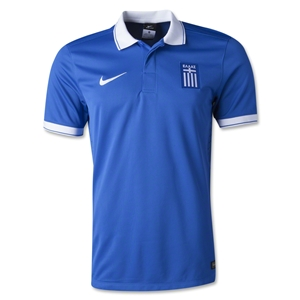 Greece 2014 Away Soccer Jersey